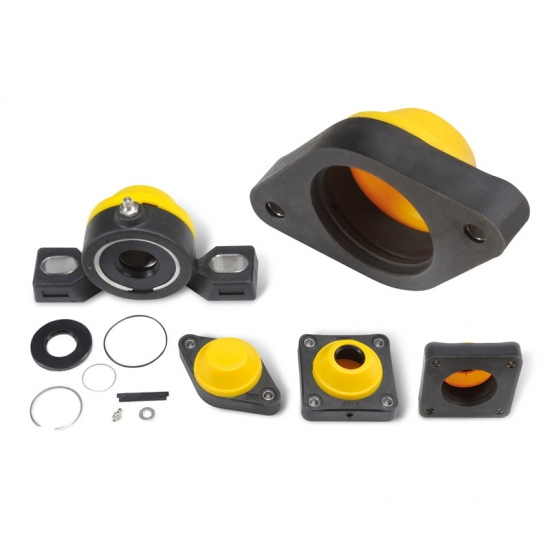 Waterproof Plastic Bearing Housings Catalogues