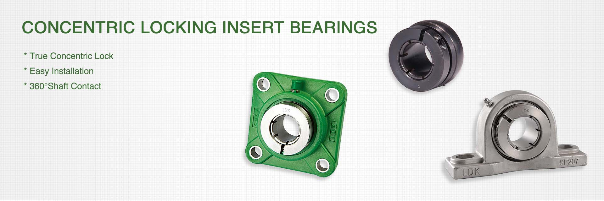 Concentric Locking Insert Bearings